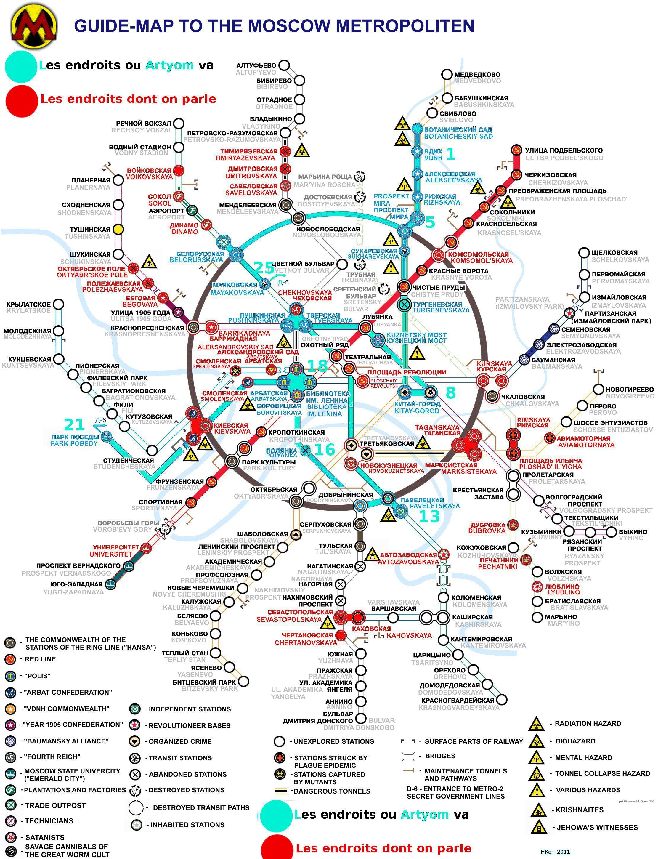 métro 2033/2034 :: [Metro 2033] Le voyage d'Artyom